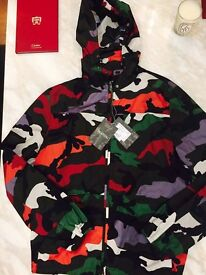 Valentino jacket camouflage army