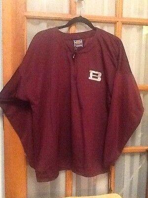 EASTON Long Sleeve Adult Cage Jacket L Large Quarter Zip 1/4