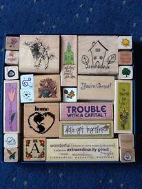 25 Stamp Blocks for Card/Craft Making