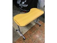 MobilitySmart Adjustable Curved Overbed/Chair Table
