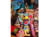 Joblot of 38 Mixed Toys and Games