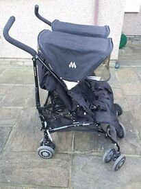 Maclaren twin techno double stroller pushchair