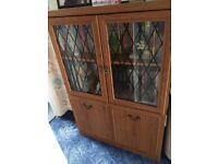Display cabinet or media storage