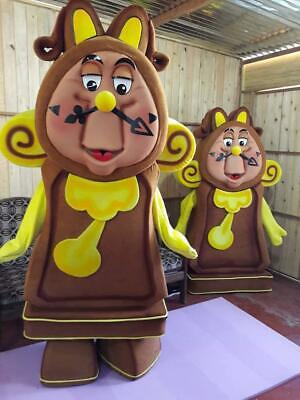Cogsworth Costume (Cogsworth Clock Mascot Costume Cosplay Character of Beauty & The)