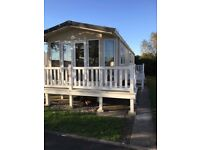 12 Luxury Privately 'Owned Caravans to rent on Sandy Glade in Brean from £99 short break
