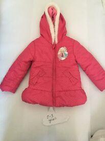 2-3 years princess coat