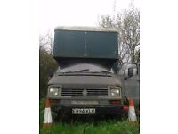 Semi converted Dodge 50 hourse box £500 Spaires and parts or renovaton project