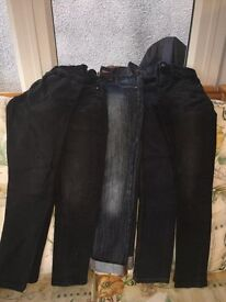 5 pairs (age 10) skinny boys Jeans