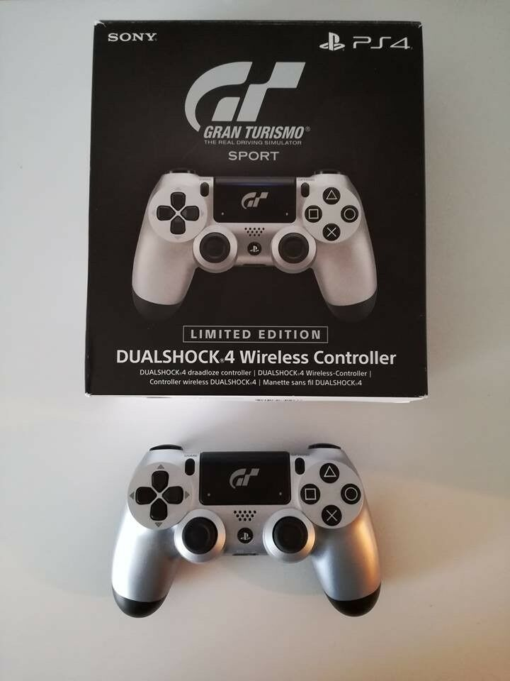 04500212e28 Official Sony PlayStation PS4 DualShock 4 Wireless Controller GT Sport  Edition