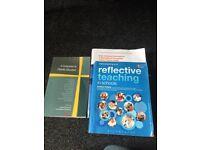 Teacher education books worth 100