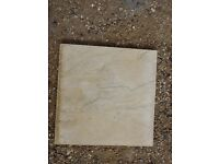 Riven buff paving slabs 450x450mm
