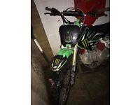 YX 140 pit bike