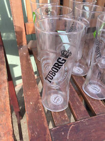 Brand New Boxed Pint Glasses. peroni, bulmers, koppaberg and many more. Perfect for home, bbq, party