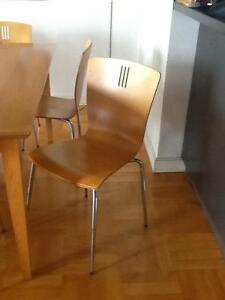 6 dining chairs - freedom furniture Milsons Point North Sydney Area Preview