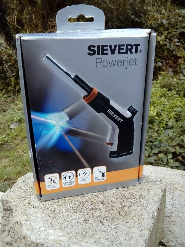 SIEVERT POWERJET 2535 BLOWTORCH (BLOW TORCH)  NEW & BOXED  £50 00 INCLUSIVE  OF DELIVERY  RRP £75 | in St Austell, Cornwall | Gumtree