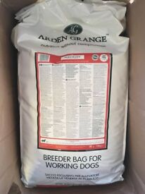 Unopened bag of Arden Grange dry dog food. 15kg