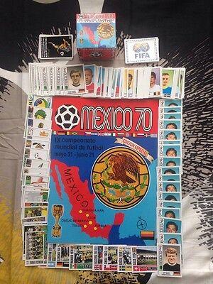 Mexico 70 Sticker Album - Special Edition COMPLETE