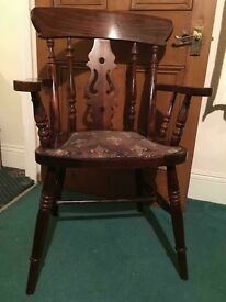 Solid wood Carver Chair