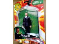 Dr Who character – The Master -New Unopened £3