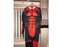 Dead pool Halloween costume (size xl)