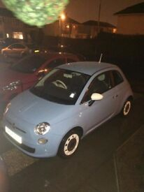 Blue 1.2 Fiat 500 - Low Mileage and great condition! Low Price too!!