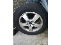 hyundai tucson alloy wheel