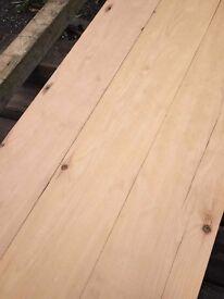 Reclaimed Yellow Pine Flooring