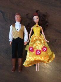 Disney Princess Belle and Prince