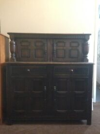 Gorgeous vintage sideboard shabby chic sideboard could be painted OPEN TO OFFERS