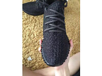 Toppest Quality Adidas Yeezy 350 Boost Pirate Black with Original