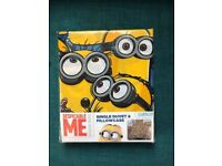 Minions duvet set brand new, bargain fell free to check my other items - cheap , kids , toy, bed