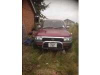 Toyota hilux surf 92 automatic breaking
