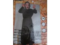 BOYS SCARY ROBE/ GRIM REAPER / SCREAM AGE 3/4 YEARS GREAT FOR HALLOWEEN PARTY