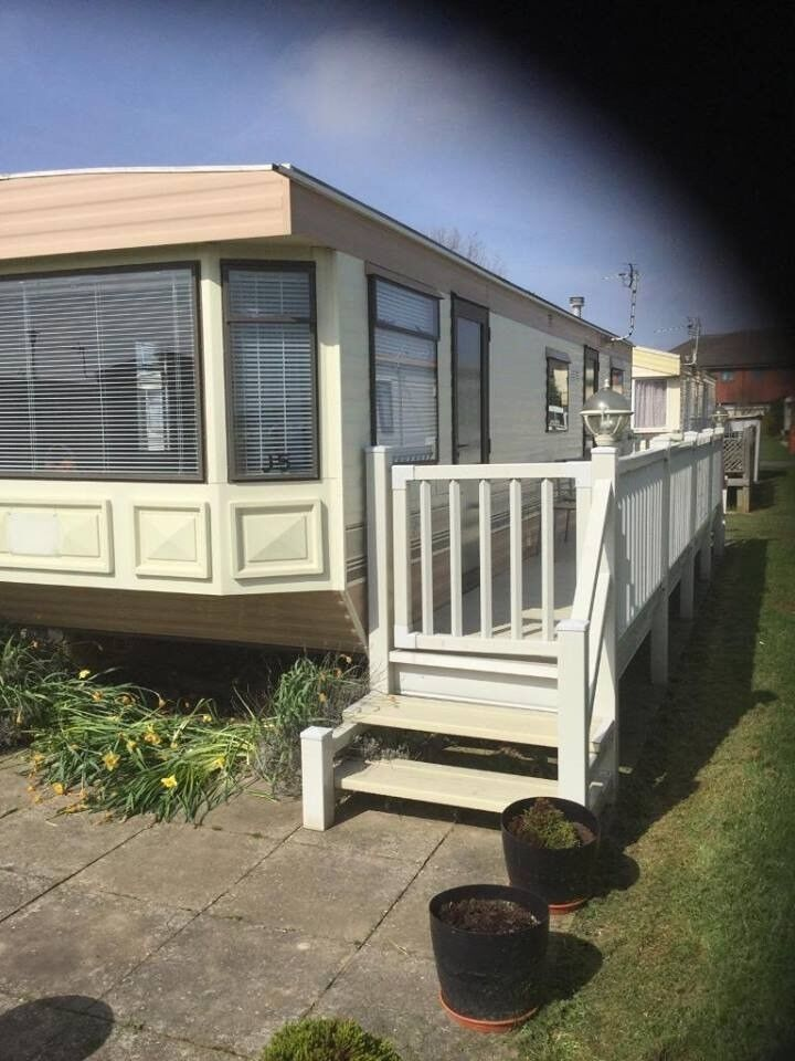 2 bed static caravan situated in mabelthorpe sited on towevans in walking distance to town