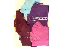 4. RALPH LAUREN & 1. PENGUIN girls T-Shirts...