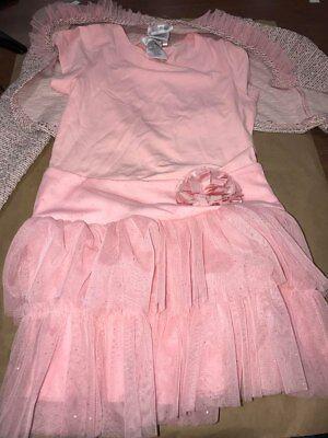 Girls 2 Piece Dress - NWT Jona Michelle Girls 2-Piece Dress - PINK - 7