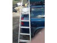 Free standing decorating ladders