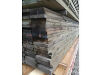Tanalised - Unbanded Scaffold Boarding (225mm x 38mm) 3.9mtr Lengths