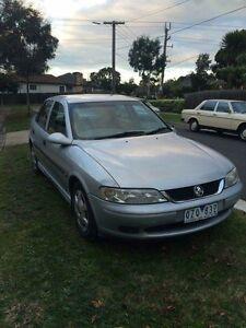 1999 Holden Vectra Sedan Oakleigh Monash Area Preview