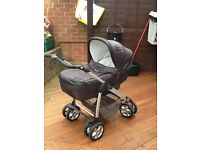Silver cross Pram/ pushchair/ car seat.