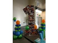 Number 1 - Huge Birthday decoration.