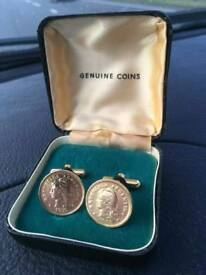 Pair of Argentina of Republica cufflinks