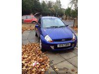 petrol blue ford ka sport