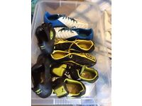 Rugby Boots UK Size 5.5, 7, 9, & 11