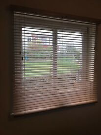 Oak wooden blinds