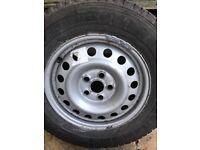 Steel VW T4 wheels