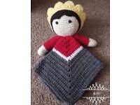 crochet snuggle/comforter blankets