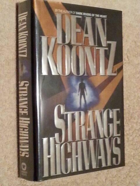 Dean Koontz SIGNED Strange Highways 1st Edn USHC