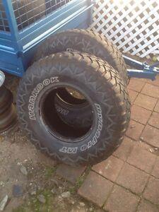 33x12.5-15lt 4x4 tyres x2 Molendinar Gold Coast City Preview