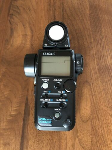 Sekonic L-758 CINE-U Digitalmaster Light Meter